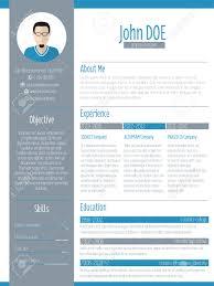 modern resume curriculum vitae cv design photo royalty modern resume curriculum vitae cv design photo stock vector 37490988
