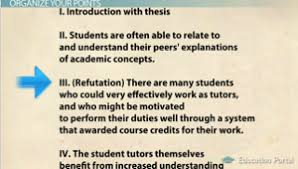 how to structure an argument in your essay   video amp lesson  argument essay outline