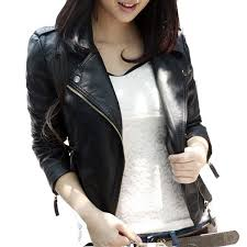 Wholesale <b>New Spring</b> Autumn 2016 <b>Women</b> Jacket Black Fashion ...