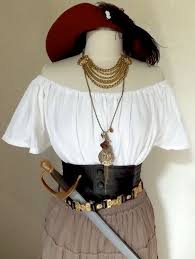 RESERVED Small <b>Women's Deluxe Pirate</b> Halloween Costume w ...