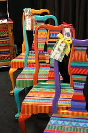 hand painted chairs from lindsey erin carolyn funky furniture