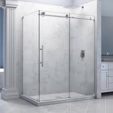 contemporary corner shower stalls elegant modern corner shower stall with clear glass door and