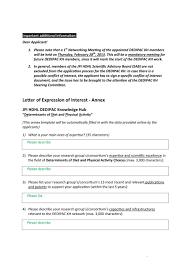 amazing letter of interest samples templates letter of interest 13