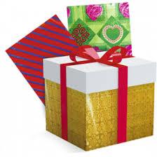 <b>Бумага для упаковки подарка</b>, 2 листа, 70х100 см, ЛК: 5201003 ...