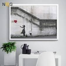 <b>NOOG</b> Banksy Posters And Print Modern <b>Canvas</b> Painting Morden ...