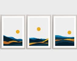 <b>Nordic abstract art</b>   Etsy