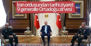 İran Genelkurmayından Türkiye'ye 9 komutanla ziyaret