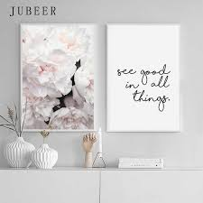 <b>Scandinavian Style Pink</b> Flowers Posters and Prints Sakura Pictures ...