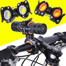 <b>360 Degree Rotation</b> Cycling Bike Bicycle Flashlight Torch Mount ...