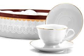 """<b>Чайный</b> сервиз """"<b>Loraine</b>"""", 12 предметов, <b>220</b> мл. 26418 — купить ..."""