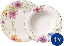 Villeroy & Boch 10-4100-8952 <b>8pcs</b> Mariefleur <b>Basic</b> Dinner Set for ...