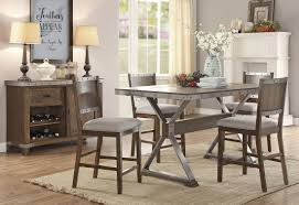 Industrial Style Kitchen Table Industrial Style Dining Table Dining Table With Cast Iron Legs