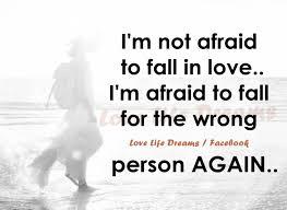 Scared Of Love Quotes. QuotesGram via Relatably.com