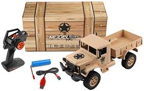 Nicemeet Simulation Military Truck Toy, <b>Electric Remote Control</b> ...