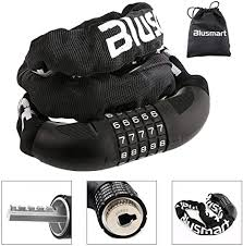 <b>Bike Lock</b>, Security <b>Anti</b>-<b>theft Bicycle</b> Chain <b>Lock</b>-No Keys Required ...