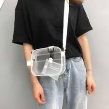 496 Best Baginning Trendy <b>Clear Jelly Bag</b> images in 2019 | Jelly ...