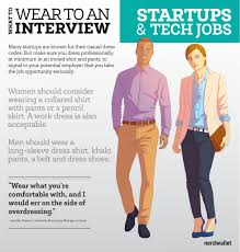 what to wear to a startup or tech job interview nerdwallet