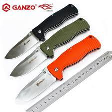 Original <b>Ganzo</b> G720 <b>Firebird F720</b> 440C blade G10 Handle <b>Folding</b> ...