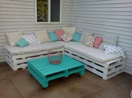 patio furniture sectional ideas: we can use pallet sectional sofa in living space area in outdoor places as garden sometimes in the spare room area etc but to meet all seated needs