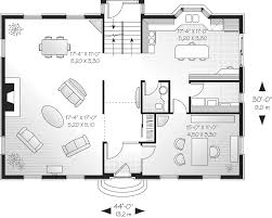 Durbin Colonial Home Plan D    House Plans and MoreSouthern House Plan First Floor   D    House Plans and More