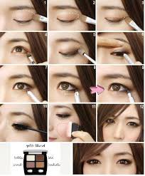 could try asian makeup for s who have smaller thinner round creases or eyes