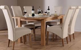 richmond kitchen table harrison extending oak dining table and  leather chairs set richmond c