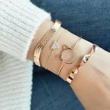Sterling silver diamond clasp bracelet, Silver cuff bracelet, <b>Minimal</b> ...