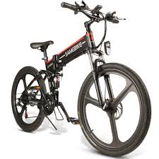 <b>Samebike LO26 Moped</b> Electric <b>Bike Smart</b> Folding E-<b>bike</b> 350W