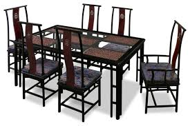 decorative asian style dining table on furniture with 74in rosewood ming style dining table with 6 asian dining room furniture