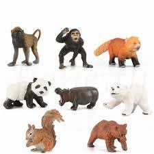 <b>Simulation</b> Wildlife <b>Zoo Farm Animal</b> Squirrel Model Figure Kids Toy ...