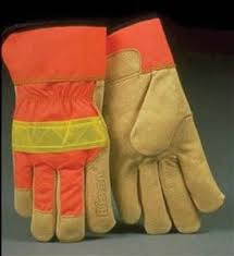 High Visibility Reflective Safety Gloves by Kinco