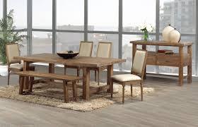 modern wood dining room sets: modern wood dining room table  with modern wood dining room table