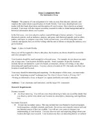 cover letter informative essay example an informative essay cover letter example of informative essay about education unit assignment pageinformative essay example extra medium size