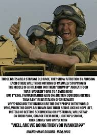 You Know You're British When... — Words of an American soldier ... via Relatably.com