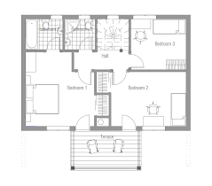 Small House CH   F  M  B  Four bedrooms house plan  House Plan    house designs    CH  F   house plan jpg