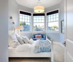 colours for a bedroom: according to the survey blue bedroom walls contribute to longer rest as the colour is linked to calm and soothing feelings