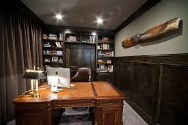 fascinating brown finish brown finish home office