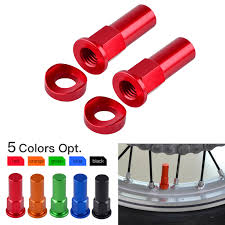 New Motocross Rim Lock Nut Spacer Kit <b>For KTM Honda Yamaha</b> ...