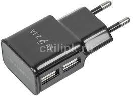 Купить Сетевое <b>зарядное устройство REDLINE</b> NT-2A, черный в ...
