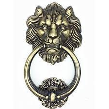 Large <b>Antique Lion</b> Door Knocker <b>Lion</b> Head <b>Door Handle</b> | <b>Vintage</b> ...