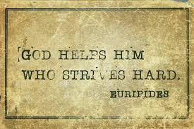 <b>God</b> helps him who strives hard - ancient Greek philosopher ...