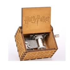 Vintage <b>Wooden Harry Potter Theme Song</b> Music Box Sales Online ...