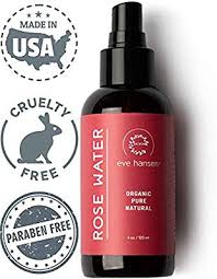 Eve Hansen Certified <b>Organic Rose Water</b> Facial Spray | Cruelty ...