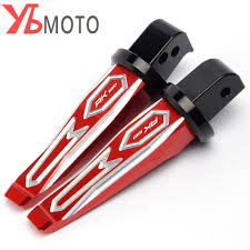 <b>Motorcycle Rear Passenger Footrests</b> Foot Rests Pegs Rear Pedals ...