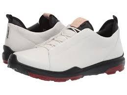 Купить БИОМ Гибрид 3 OL GTX <b>ECCO Golf</b>, цвет - белый, по цене ...