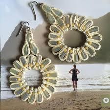 Designer <b>Handmade</b> Statement Earrings,<b>Beaded</b> Earrings,Long ...