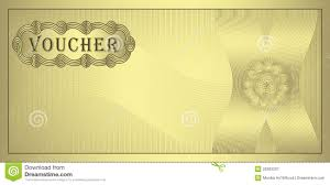 blank coupon clipart clipart kid royalty stock photography voucher gold