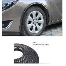 <b>lsrtw2017 carbon fiber car</b> wheel arches trim for volkswagen polo ...
