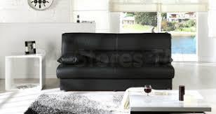 Regata <b>Sofa Bed</b> in Escudo Black PU - Модернизм - Нью-Йорк - от ...