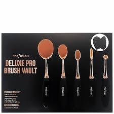NEW <b>Profusion</b> Cosmetics Tools <b>Deluxe Pro Brush</b> Vault gift set ...